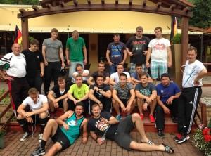 Traininglager 2014